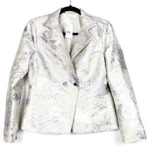Cabi NWT Chalet Metallic Jacket Blazer 4